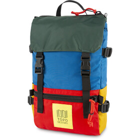 Topo Designs Rover Pack blue/red/forest